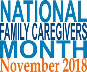 National Family Caregivers Month banner