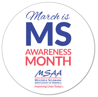 MS Awareness month badge