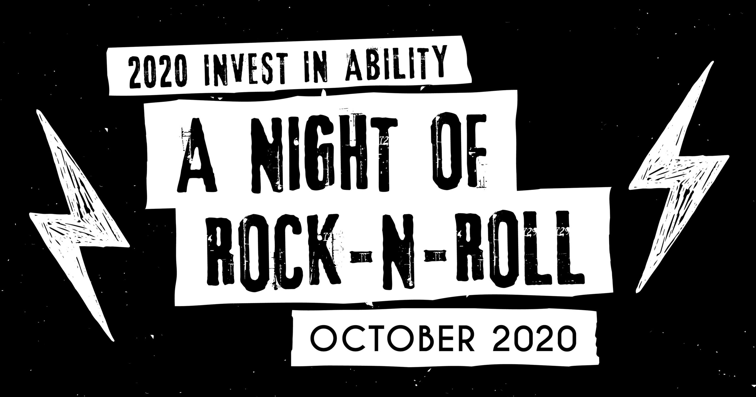 A Night of Rock-N-Roll Banner