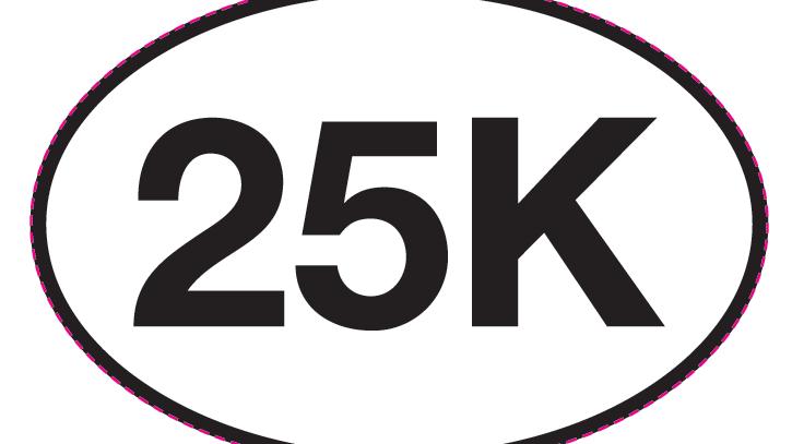 I'm doing a 25K!
